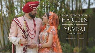 Harleen Mann & Yuvraj Grewal - Cinematic Same Day Highlights