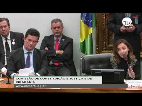"""Deputado Chama Moro De """"juiz Ladrão"""" E Ministro Vai Embora Da Câmara"""