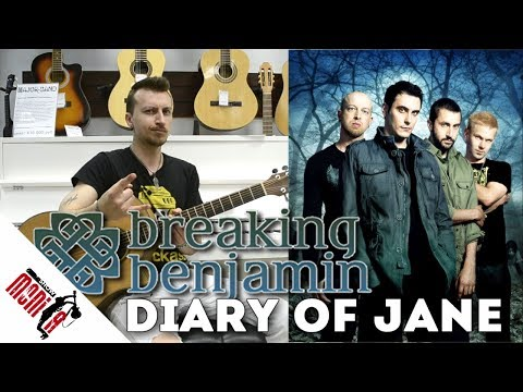 show MONICA разбор 83 - Breaking Benjamin - The Diary Of Jane [Как играть на гитаре]