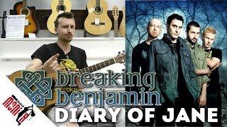 Show MONICA разбор 83 Breaking Benjamin The Diary Of Jane Как играть на гитаре