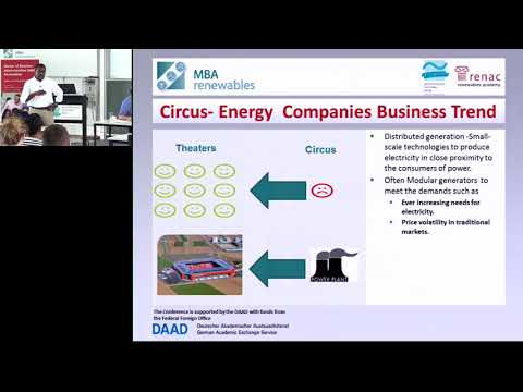 Distributed Generation Solar PV Investment returns - MBA RE Alumni Conference 2017