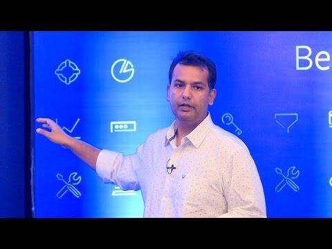 Satyajeet Singh, Facebook India, at Tech Sparks 2016