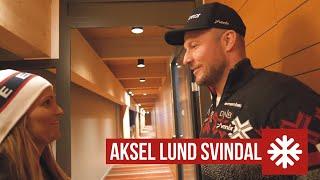SkiStar VM-vlogg | Träffar Aksel Lund Svindal
