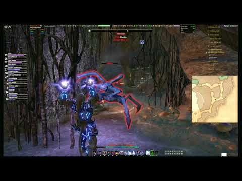 ESO   Ancestral Tomb Search   Part 3   Vvaardenfell Roaming   Khartag Point delve   2017 08 05 09 56