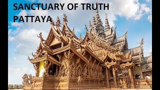 Sanctuary of truth WALKING tour VIDEO / pattaya thailand attraction FROM ENTRY TO EXIT FEE 500-BAHT