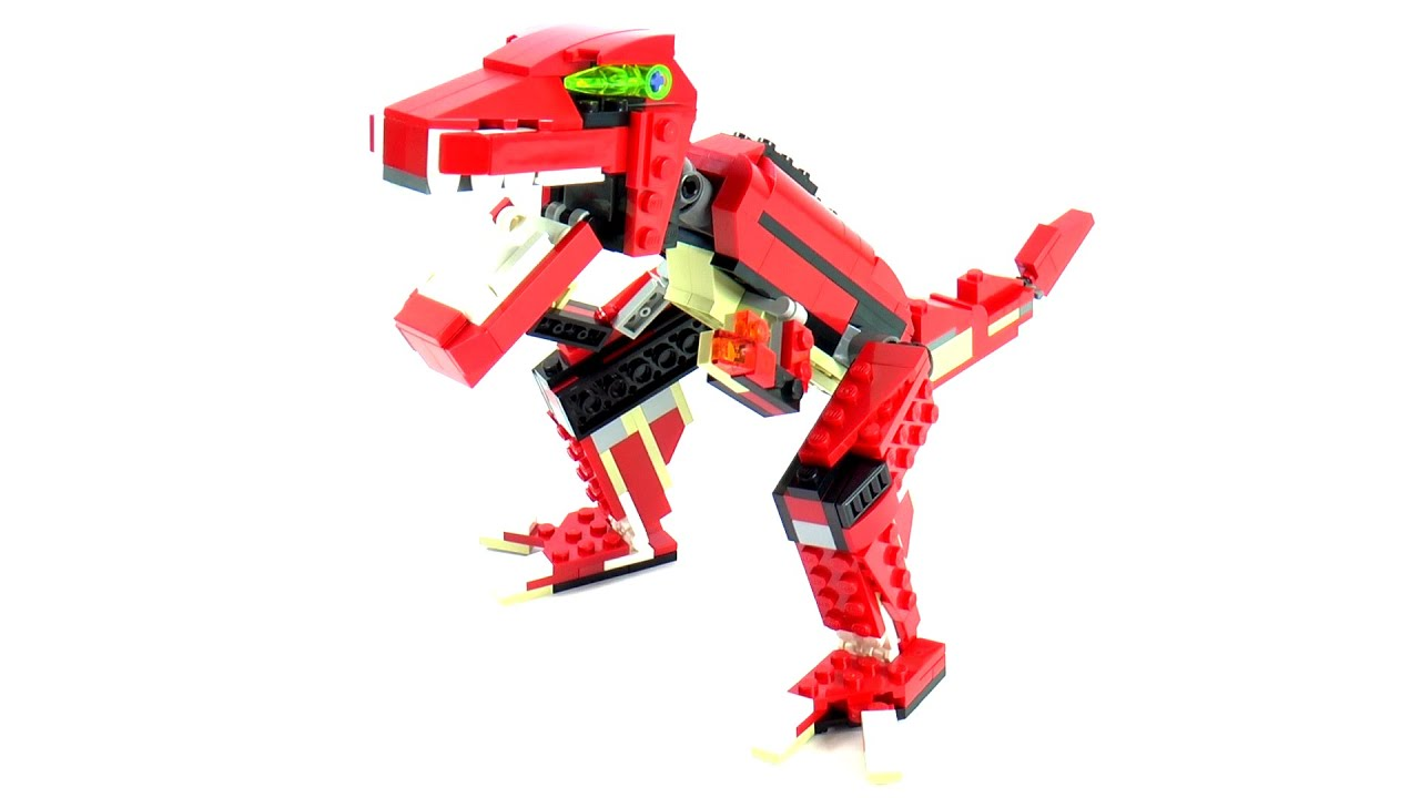 Lego Creator 31024 Model B Ferocious Dino Speed Build And Review ...