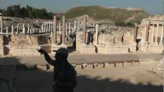 Captain Morgan visits Israel: famous sites from the Old and New Testament