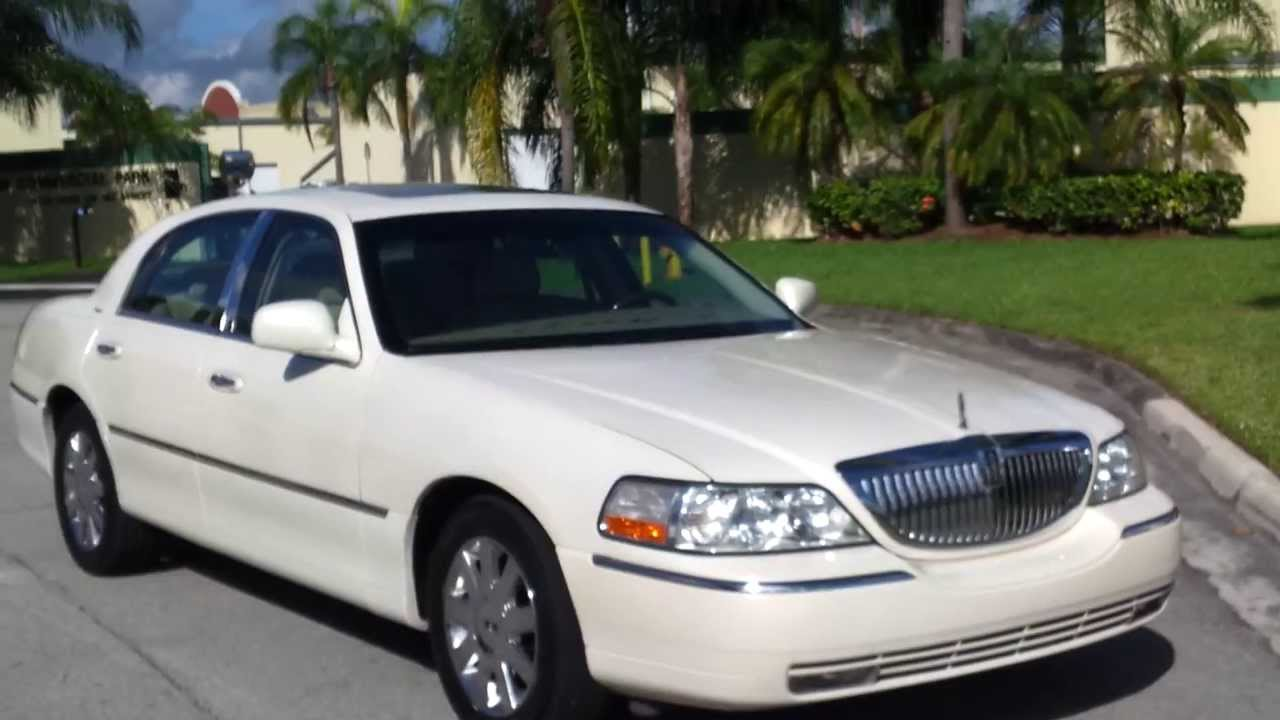 For Sale 2007 Lincoln Town Car Designer Sedan Www