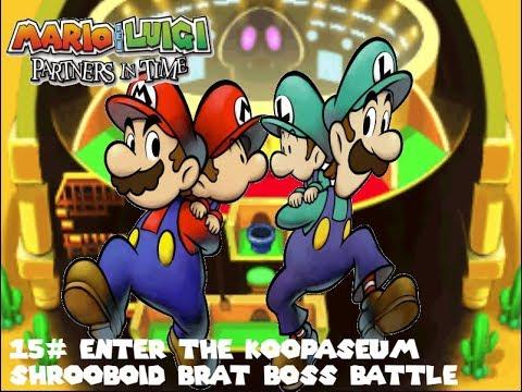 Mario Luigi Partners In Time Walkthrough Episode 15 Enter The