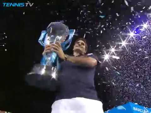 SIX OF THE BEST: Roger Federer's six ATP Finals titles