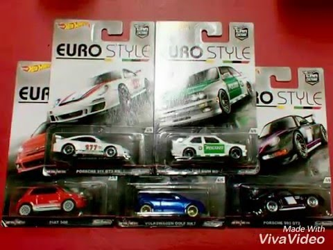 Hot wheels hotwheels euro style 2016 youtube for 9 salon hot wheels 2016