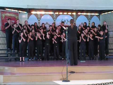I Just Can't Wait To Be King - Sierramont Middle School Choir - Disneyland 2009