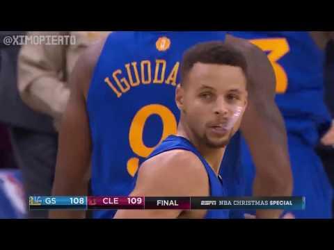 NBA Christmas Highlights - Golden State Warriors GSW vs Cleveland Cavaliers CAVS | Dec 25, 2016