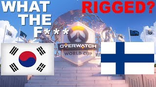 SOUTH KOREA VS FINLAND! JAYNE FREAKSOUT! RIGGED? CRAZIEST OVERWATCH MATCH OF ALL TIME!