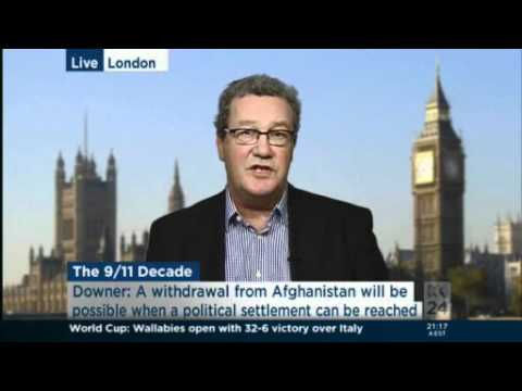 Alexander Downer talks about the legacy of 911