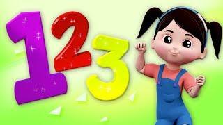 Nummern Lied | lerne die Zahlen 1 bis 10 | Numbers Song