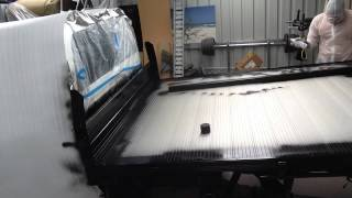 Aluminium Ute Tray, Painted Gloss Black Spray Paint Rustoleum Part 2 Holden Colorado