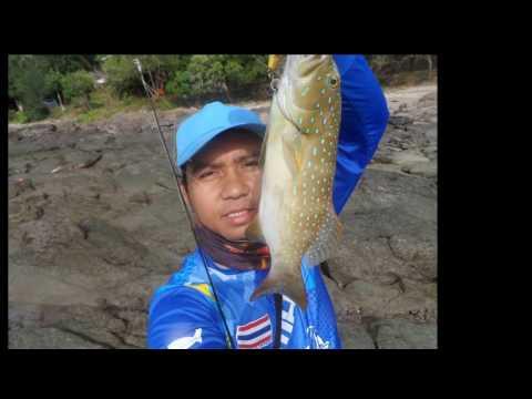 ทริปตกปลาชายฝั่ง ณ ระยอง 2559