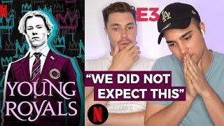 YOUNG ROYALS E3 GAY GUYS REACT   Corey Schultz