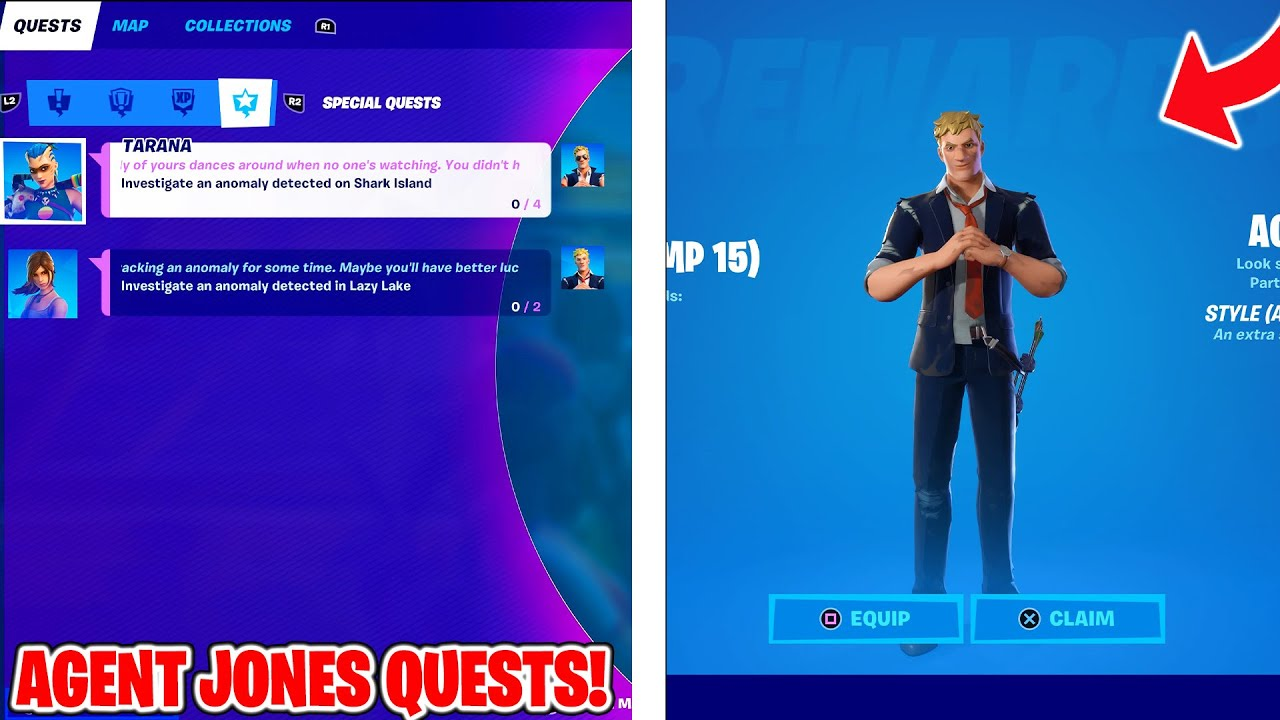 Download How To Get AGENT JONES CHALLENGES in Fortnite Battle Royale!   How To Complete!