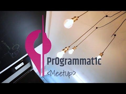 Pr0grammat1c Meetup Berlin - 20171114