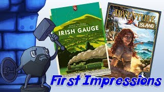 First Impressions with Sam Healey (Irish Gauge and Adventure Island)