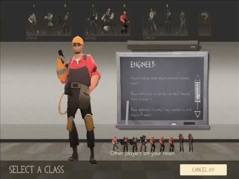 TF2 Mod: All Class Animations Changed To The Scout Animations