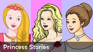 Rapunzel And Your Favorite Princess Stories - 1 Hour Bundle!!