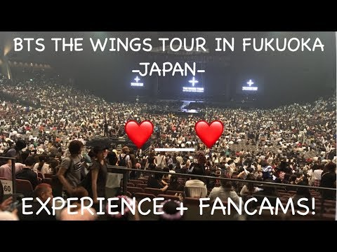 170625 BTS The Wings Tour in Fukuoka Experience + Fancams!