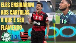 Em campo, Flamengo deixou torcedor orgulhoso, Hugo emocionou e Palmeiras, mal treinado, só irritou