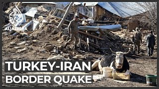 Iran quake kills at least nine people in Turkey and injures dozens