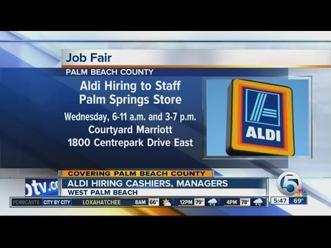Job fair for Aldi in Palm Springs