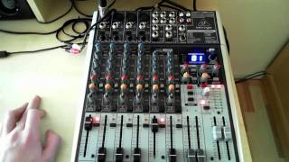 Behringer Xenyx X1204USB Review Teil 1 (German/Night Catcher)