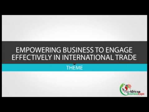 PAN AFRICA  BUSINESS EXPO 1 minute Advert