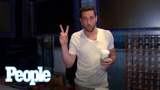 Zachary Levi Gives a Backstage Tour of First Date | People