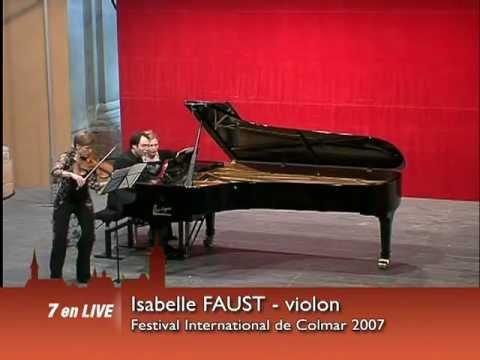 Isabelle Faust & Alexander Melnikov - Festival International de Colmar 2007
