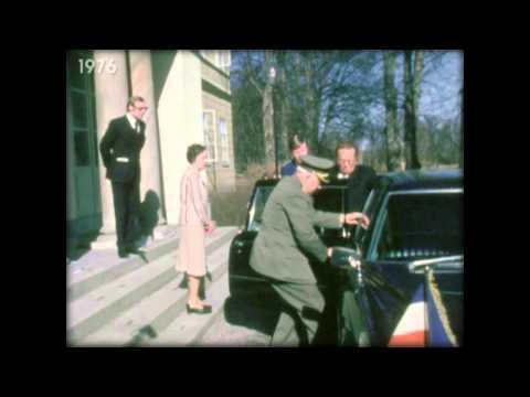 Tito u posjeti Svedskoj - prikljestena ruka