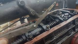 видео регулировка клапанов на мтз 80