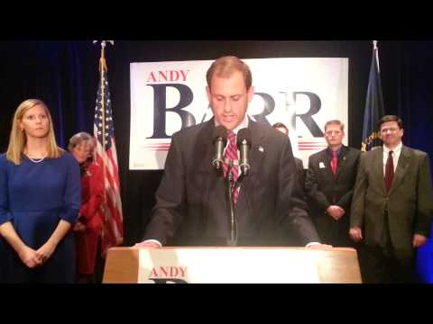 Andy Barr victory speech