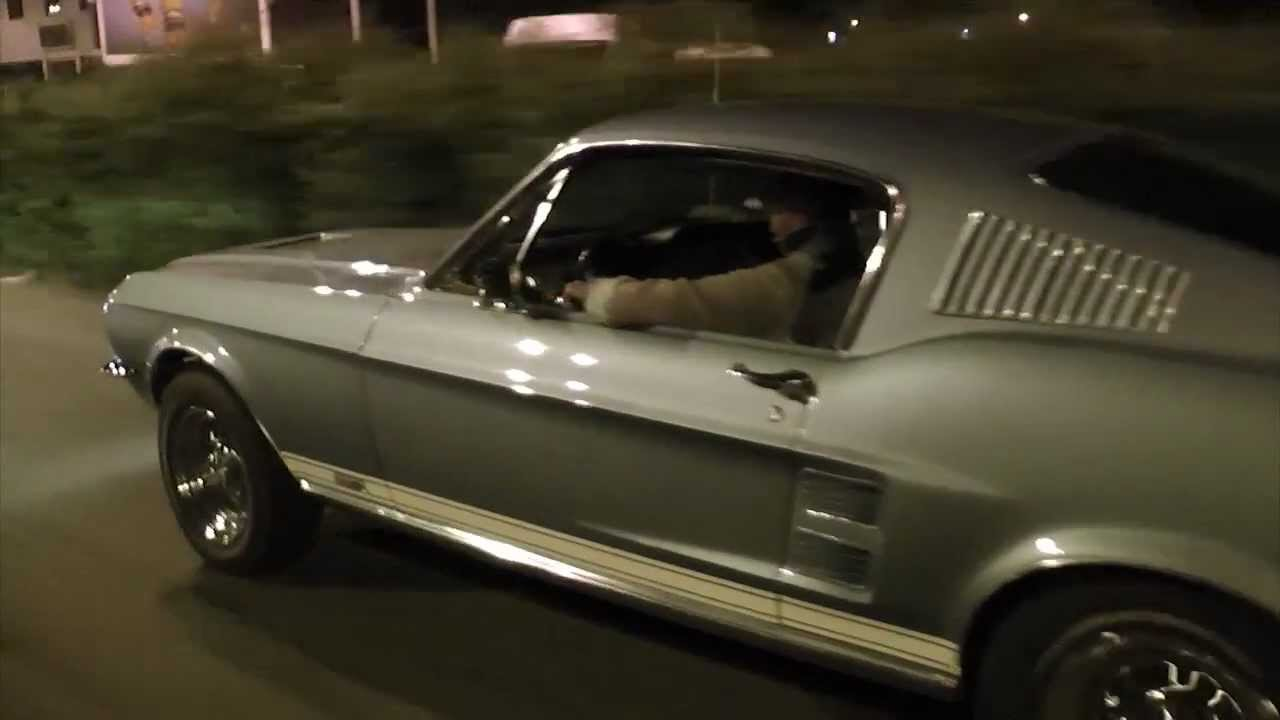 Mustang fastback 1967 restauration hd