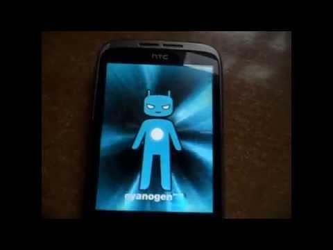 HTC Wildfire - Instalacja CyanogenMod 9 (01.01.2013)