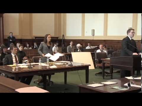 2013 National Trial Competition championship round (law scho
