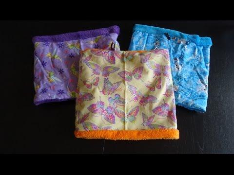 DaIsY´s DIY – Kinderloop Schal in 15 Minuten nähen NEU