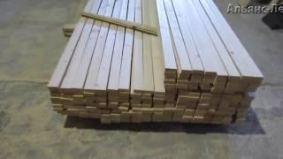 Производим сухую строганную рейку для обрешетки(, 2017-02-27T14:49:01.000Z)