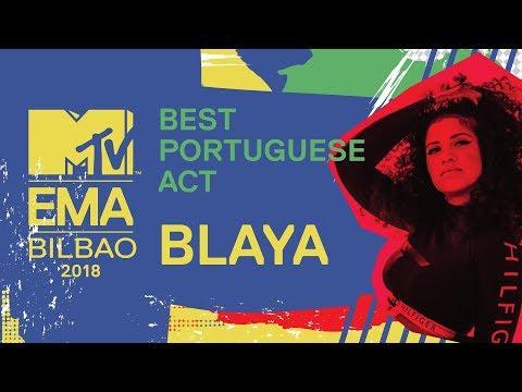 MTV EMA 2018: Best Portuguese Act - Blaya   MTV Portugal