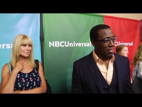 Wesley Snipes talks The Player at TCA's in Beverly Hills