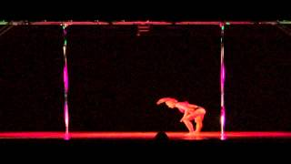 FAWNIA DIETRICH-Midwest Pole Dance Competition 2012
