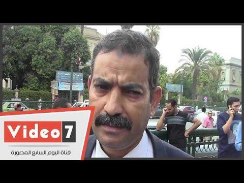 اليوم السابع : بالفيديو..مواطن:«بحس أن فيه وظائف وهمية فى المصالح الحكومية ومبتخدمش حد»