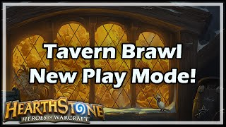 [Hearthstone] Tavern Brawl New Play Mode!