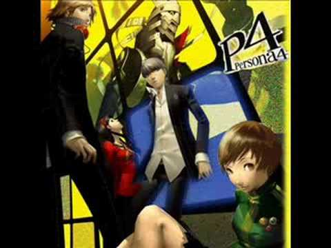Backside of the TV  Persona 4